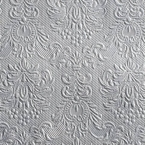 Bilde av Servietter Elegance Lunsj Sølv 15stk