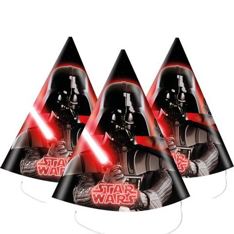 Bilde av Star Wars Partyhatter 8stk