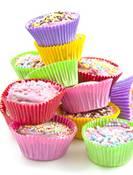Muffinsformer Ensfarget