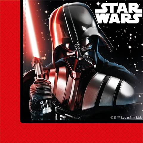 Bilde av Star Wars Darth Vader Servietter33cm 20stk