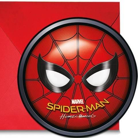 Bilde av Spiderman Homecoming  Invitasjon 6stk