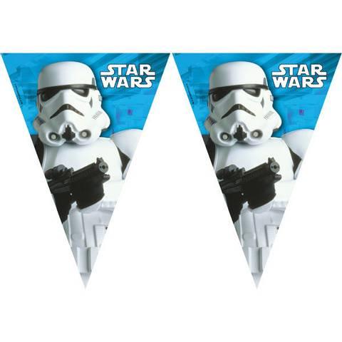 Bilde av Star Wars Plastikk Vimpler 2m