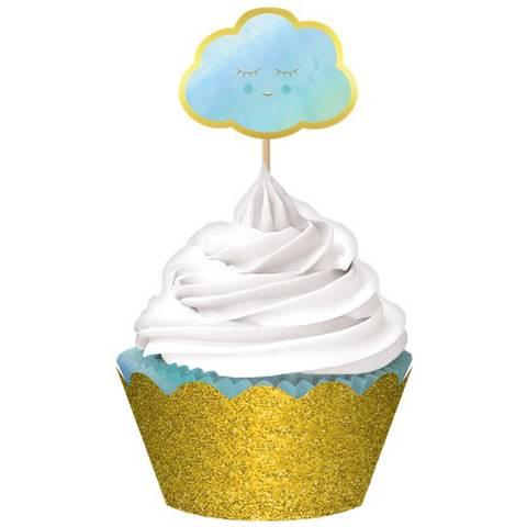 Bilde av Muffinsformer Oh Baby Blue 24stk