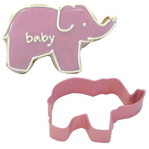 Bilde av Kakeform Rosa Elefant 8.9cm