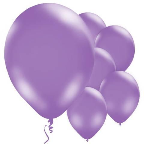 Bilde av Ballonger Lilla Lateks 28cm 10stk